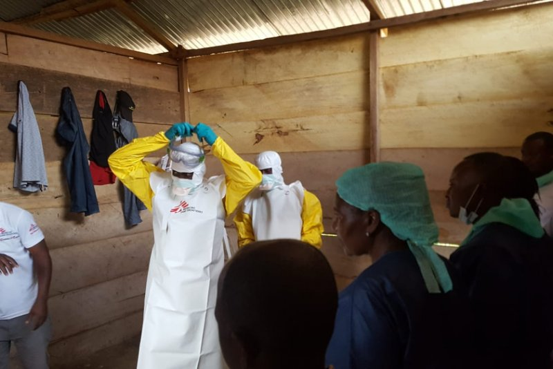 An image preview for Democratic Republic of Congo: MSF responds to Ebola outbreak in North Kivu province article.