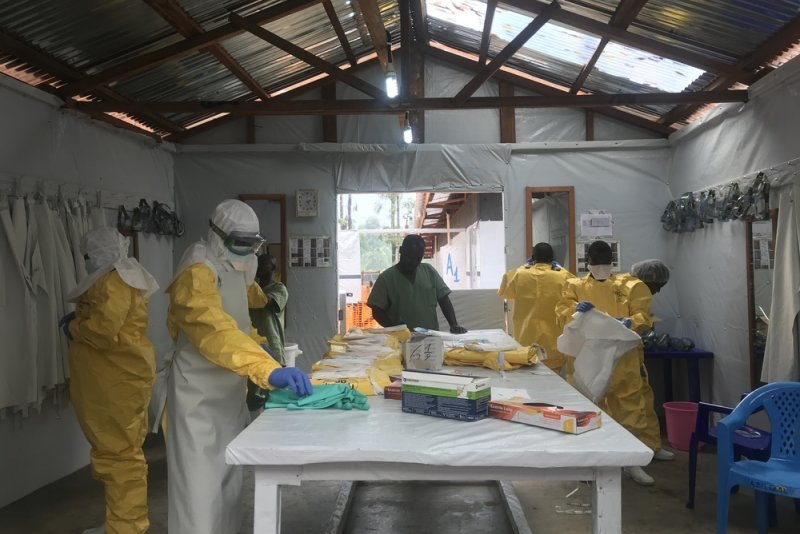 An image preview for Ebola: Amid tensions in Democratic Republic of Congo, MSF scales up outbreak response and patient care article.