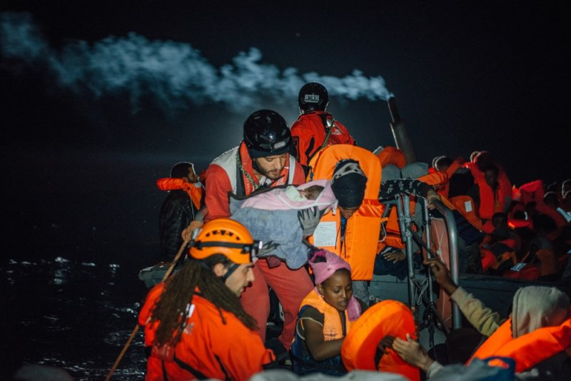 An image preview for With migrant lives still at risk on Mediterranean, MSF is forced to terminate operations of search-and-rescue ship Aquarius article.